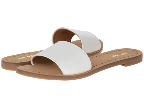 Nine West - Summers (White Leather) Women's Sandals