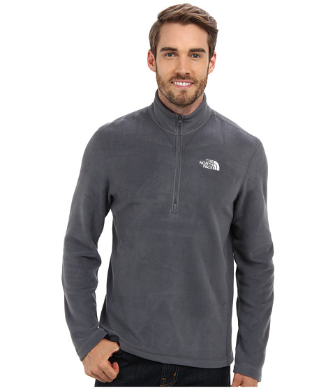 The North Face - TKA 100 Glacier 1/4 Zip (Vanadis Grey) Men's Long Sleeve Pullover