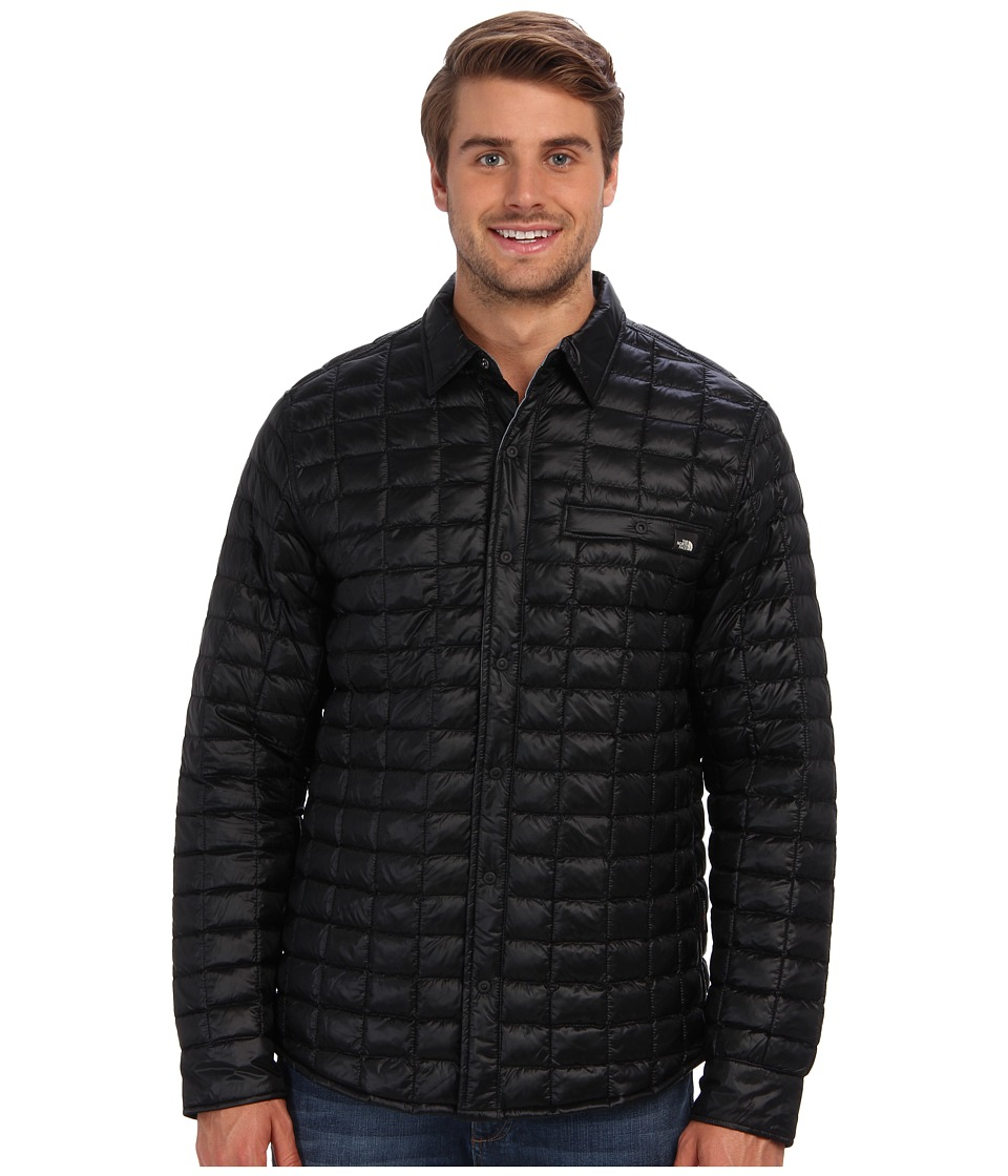 The North Face - Reyes ThermoBall Shirt Jacket (TNF Black) Men's Coat