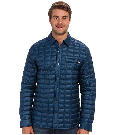 The North Face - Reyes ThermoBall Shirt Jacket (Monterey Blue) Men
