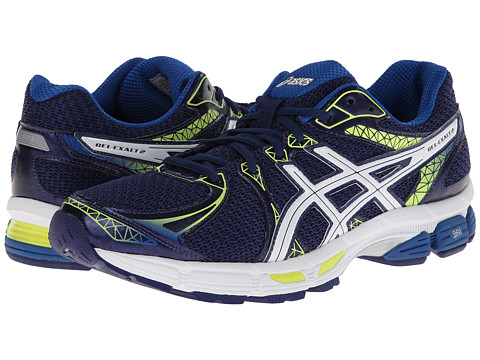 ASICS - GEL-Exalt 2 (Navy/White/Yellow) Men