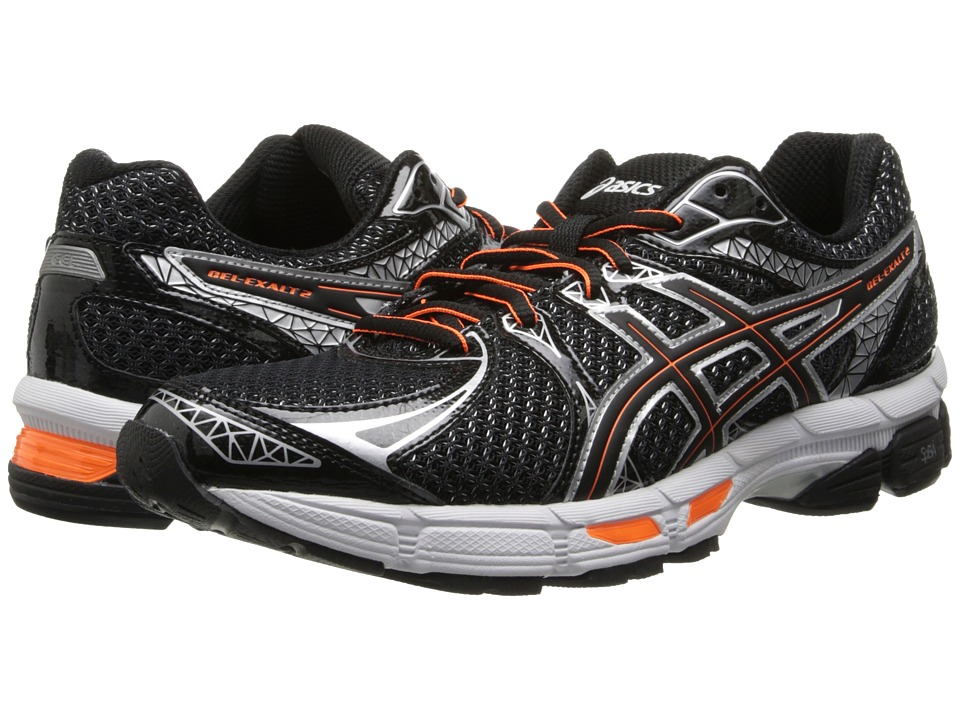 ASICS - GEL-Exalt 2 (Black/Onyx/Orange) Men's Running Shoes