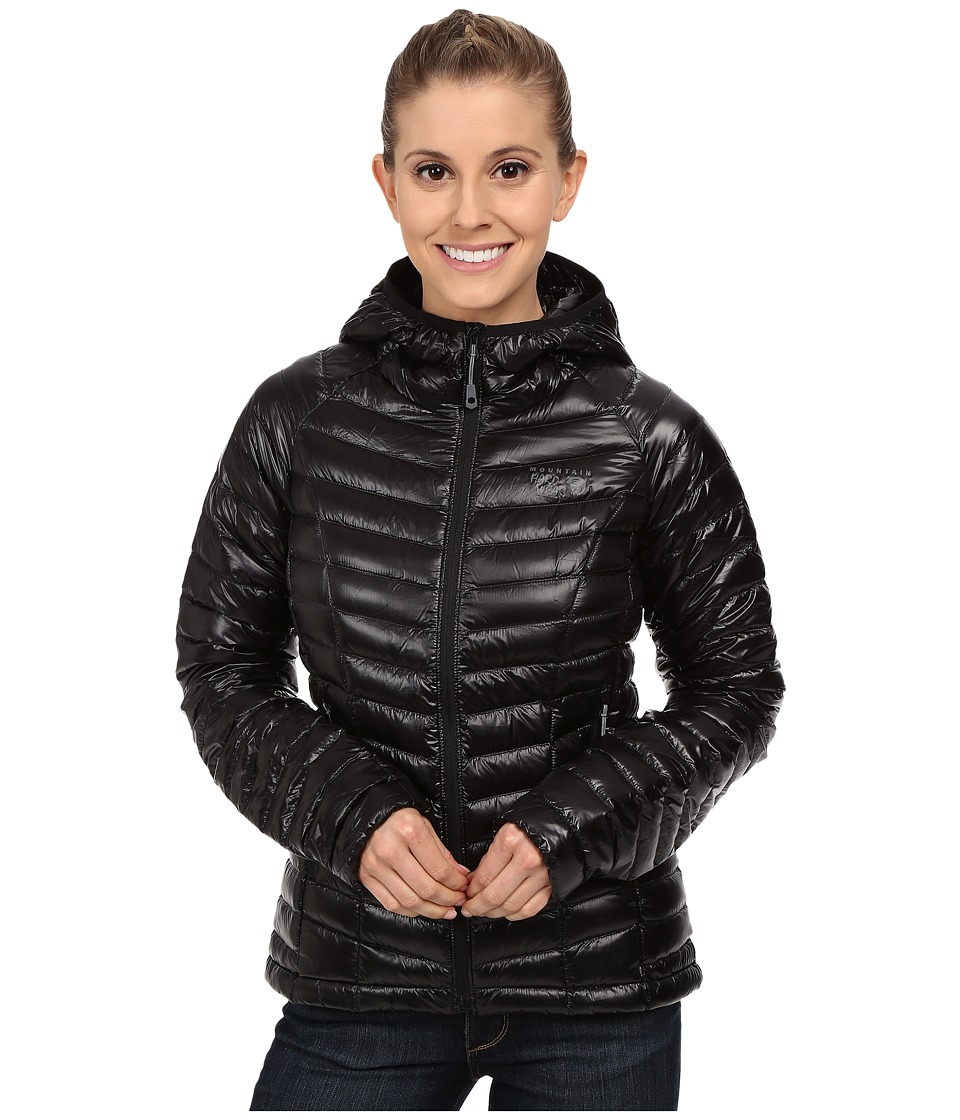 Mountain Hardwear - Ghost Whisperertm Down Hooded Jacket (Black) Women's Coat
