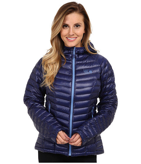 Mountain Hardwear - Ghost Whisperer Down Hooded Jacket (Aristocrat) Women's Coat