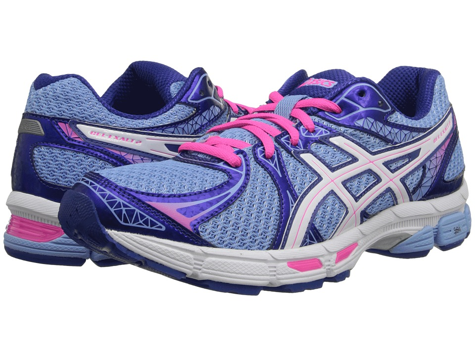 ASICS - GEL-Exalt 2 (Ice Blue/White/Hot Pink) Women's Running Shoes