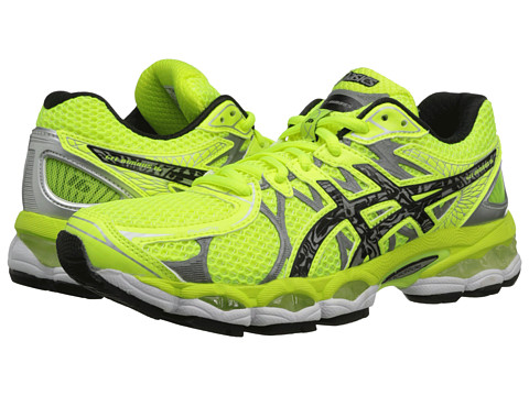 ASICS - GEL-Nimbus 16 Lite-Show (Flash Yellow/Lightning/Black) Women's Running Shoes