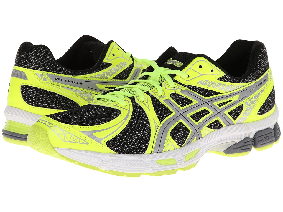 ASICS - GEL-Exalt 2 Lite-Show (Black/Silver/Flash Yellow) Men