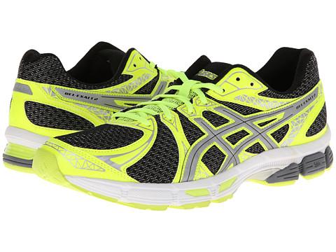 ASICS - GEL-Exalt 2 Lite-Show (Black/Silver/Flash Yellow) Men's Running Shoes