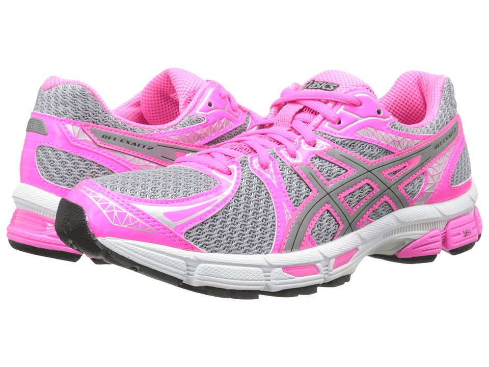 ASICS - GEL-Exalt 2 Lite-Show (Lightning/Silver/Hot Pink) Women's Running Shoes