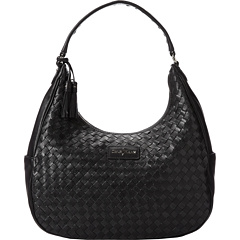 SALE! $174.99 - Save $173 on Cole Haan Nora Weave Hobo (Black) Bags and Luggage - 49.72% OFF $348.00
