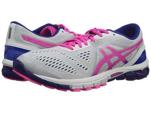 ASICS - GEL-Excel33 3 (White/Hot Pink/Blue) Women's Running Shoes