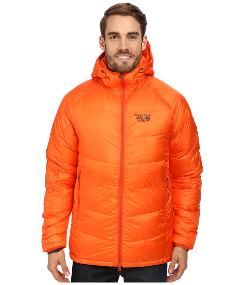 Mountain Hardwear - Phantom Hooded Down Jacket (State Orange) Men