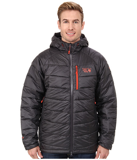 Mountain Hardwear - Super Compressor Hooded Jacket '14 (Shark) Men's Coat
