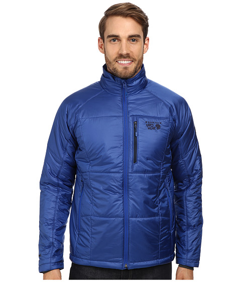 Mountain Hardwear - Compressor Insulated Jacket (Azul) Men