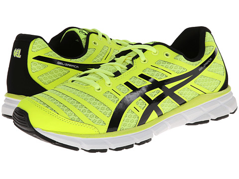 ASICS - Gel-Zaraca 2 (Flash Yellow/Black/Silver) Men's Running Shoes