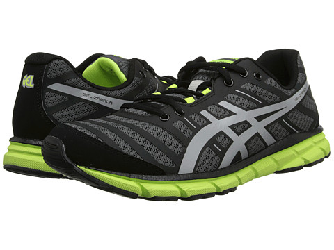 ASICS - Gel-Zaraca 2 (Dark Charcoal/Silver/Flash Yellow) Men's Running Shoes
