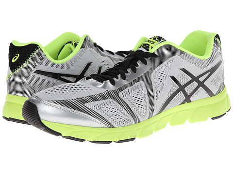 ASICS - GEL-Havoc 2 (Stone/Lightning/Lime) Men's Running Shoes
