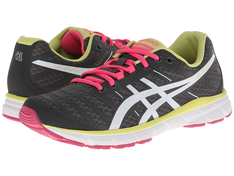 ASICS - GEL-Zaraca 2 (Dark Charcoal/White/Neon Pink) Women