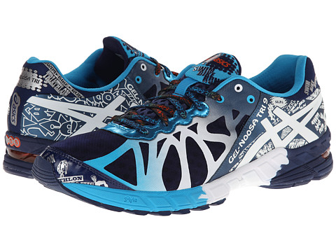 ASICS - GEL-Noosa Tri 9 (Navy/White/Flame) Men's Running Shoes
