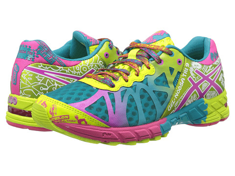 ASICS - GEL-Noosa Tri 9 (Capri Blue/Raspberry/Lime) Women's Running Shoes