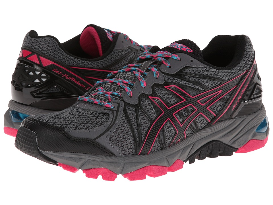 ASICS - GEL-FujiTrabuco 3 Neutral (Titanium/Black/Magenta) Women