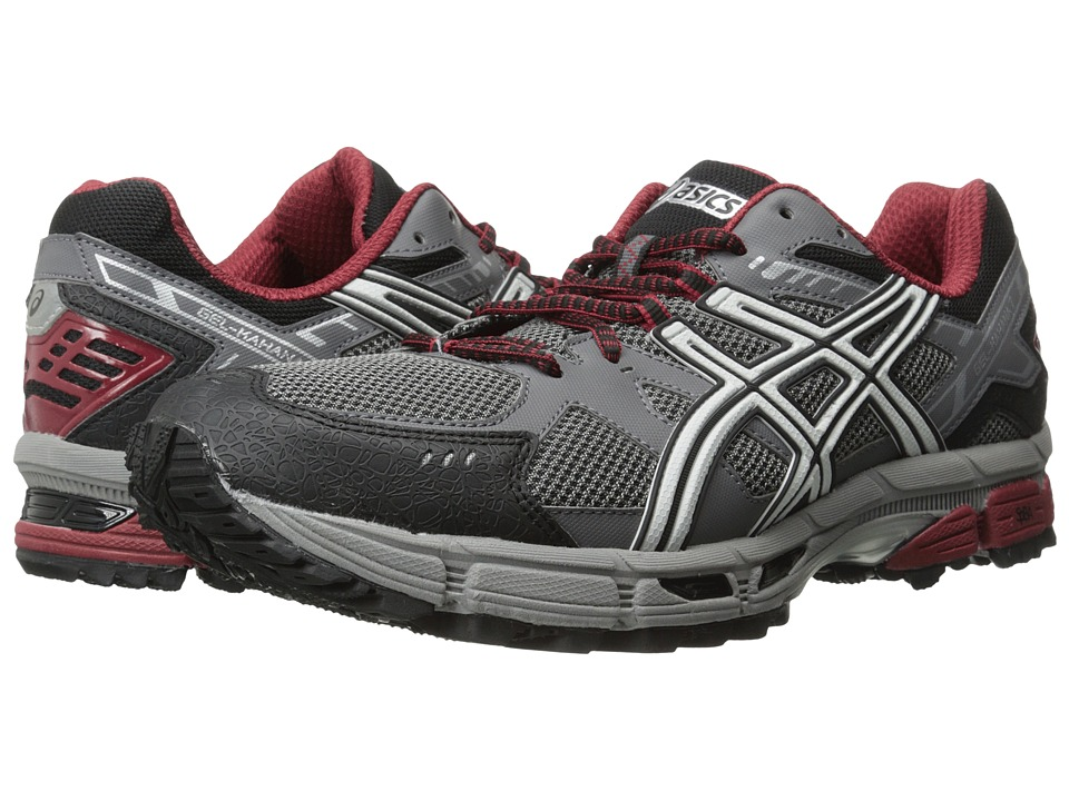 ASICS - Gel-Kahana 7 (Titanium/Lightning/Red) Men's Running Shoes
