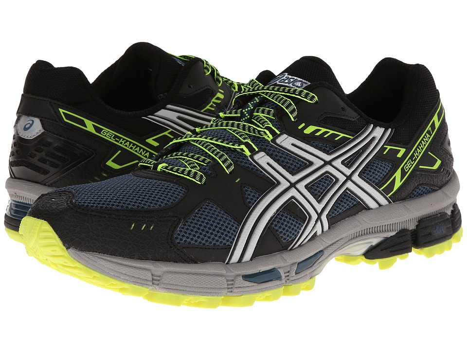 ASICS - Gel-Kahana(r) 7 (Mallard/Lightning/Flash Yellow) Men's Running Shoes