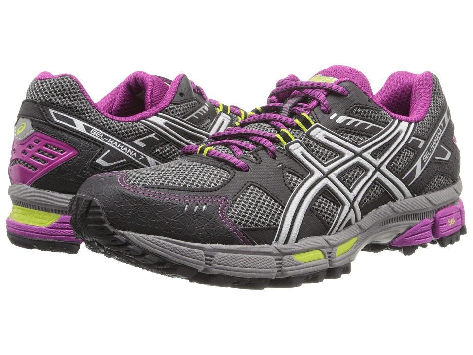 ASICS - Gel-Kahana 7 (Titanium/Lightning/Plum) Women's Running Shoes