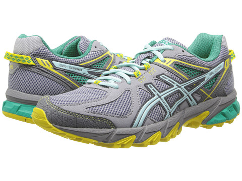 ASICS - Gel-Sonoma (Gray/Ice Blue/Yellow) Women's Running Shoes