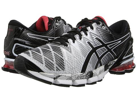 ASICS Gel-Kinsei 5 (Black/Onyx/Chili) Men's Running Shoes