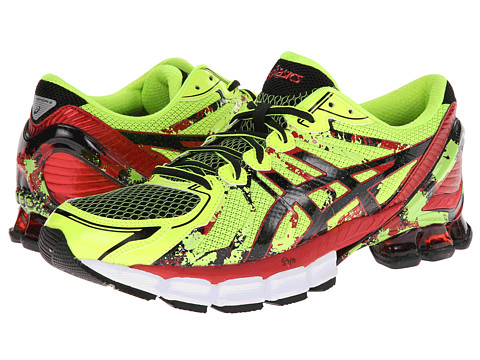 ASICS - GEL-Sendai 2 (Flash Yellow/Black/Red) Men