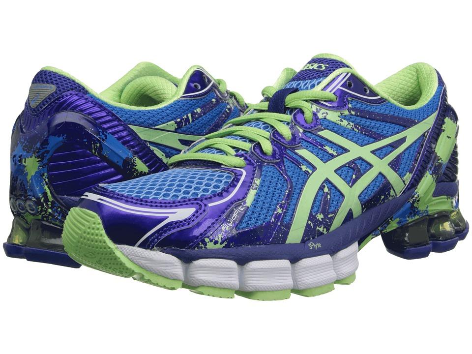 ASICS - Gel-Sendai 2 (Ice Blue/Mint/Blue) Women's Running Shoes