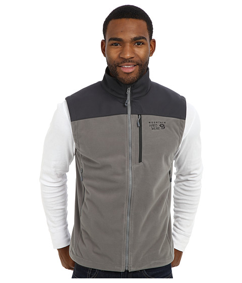 Mountain Hardwear - Mountain Tech II Vest (Titanium/Shark) Men