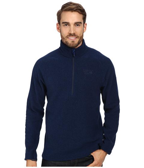 Mountain Hardwear - Toasty Tweed Quarter Zip Pullover (Collegiate Navy) Men