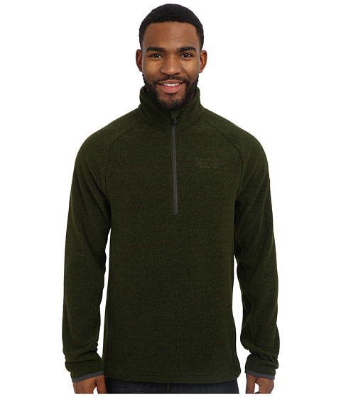 Mountain Hardwear - Toasty Tweed Quarter Zip Pullover (Greenscape) Men's Long Sleeve Pullover