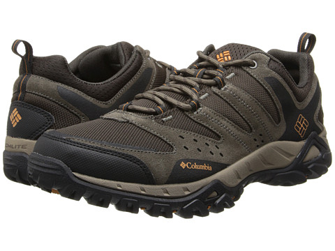 Columbia - Peakfreak XCRSN (Mud/Bright Copper) Men's Shoes