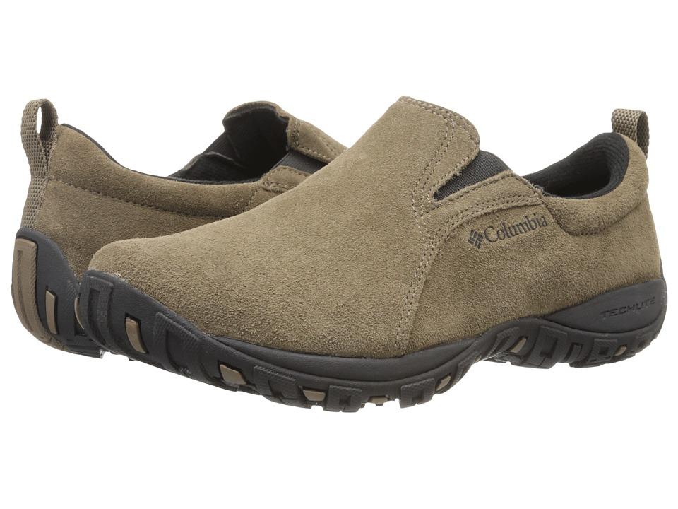 Columbia - Peakfreak Nomad Moc (Saddle/Black) Men's Slip on Shoes