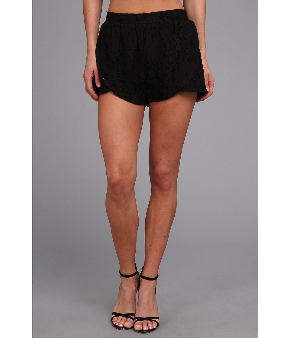 MINKPINK - The Days You Feel Alive Shorts (Black) Women's Shorts