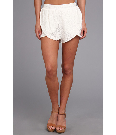 MINKPINK - The Days You Feel Alive Shorts (Cream) Women's Shorts