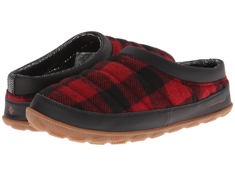 Columbia - Packed Out II Omni-Heat Flannel (Chili/Black) Men