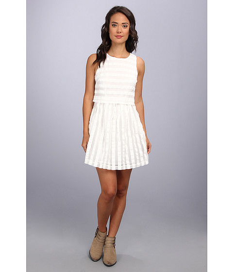 MINKPINK - The Pianist Dress (Chalk White) Women's Dress
