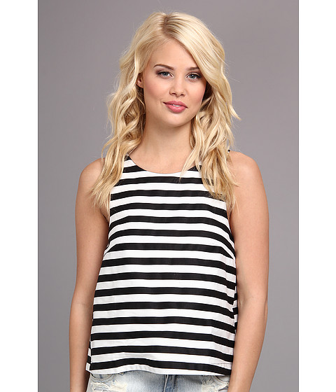 MINKPINK - Monochrome Pop Top (Black/White) Women