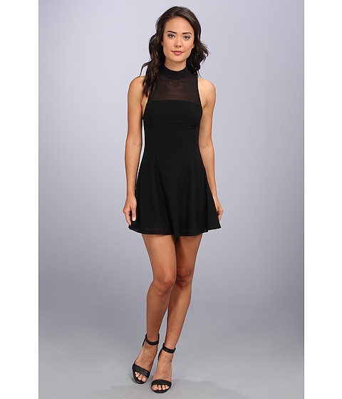 MINKPINK - Here Comes The Night Dress (Black) Women