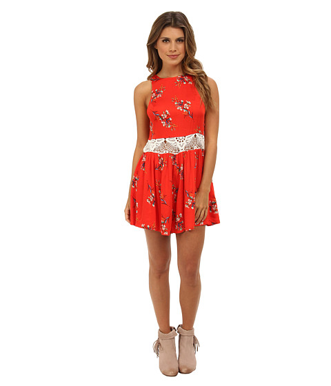MINKPINK - Flower Posy Playsuit (Multi) Women