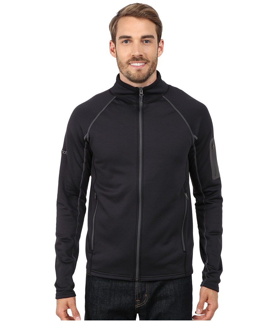 Marmot - Stretch Fleece Jacket (Black) Men's Jacket