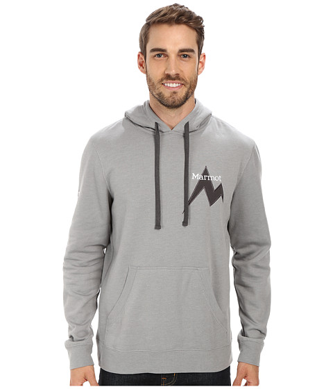 Marmot - Mdot Hoody (Steel/Stealth Gray/Stealth Gray) Men's Sweatshirt