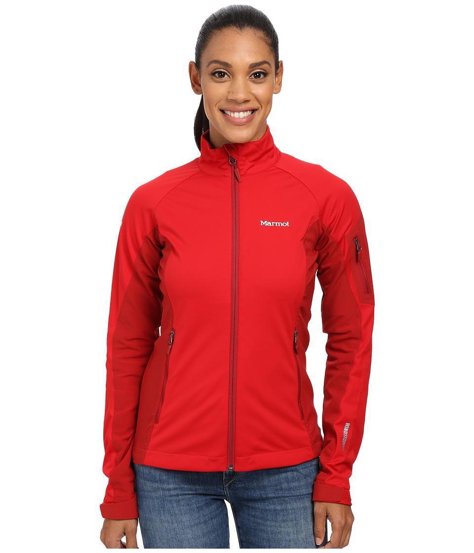 Marmot - Leadville Jacket (Team Red/Dark Crimson) Women's Jacket
