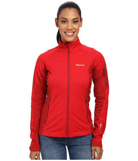 Marmot - Leadville Jacket (Team Red/Dark Crimson) Women's Jacket