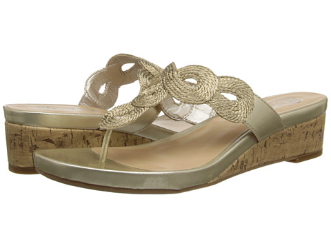 Mootsies Tootsies Mopompei2 (Bronze/Bronze Fabric) Women's Sandals