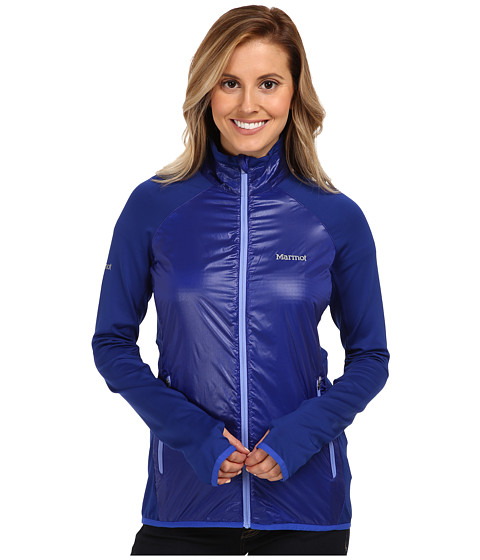 Marmot - Frequency Hybrid Jacket (Astral Blue/Vibrant Royal) Women's Sweatshirt